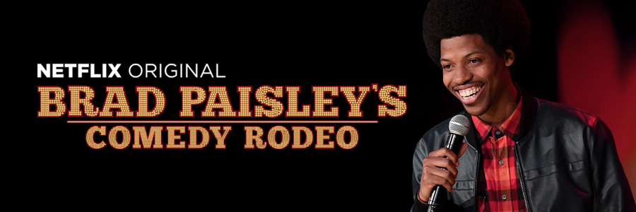 Brad Paisley's Comedy Rodeo featuring Mike E. Winfield First Netflix Special